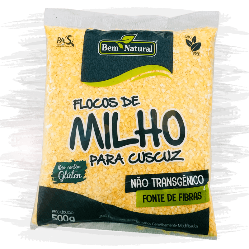 Flocos de Milho Não Transgênico